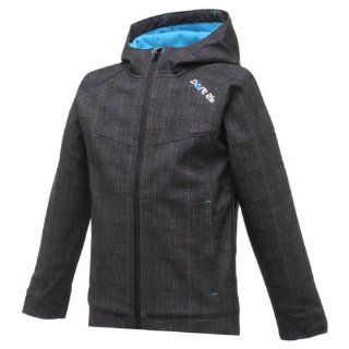 Dare2b Hit the Road black marl Softshelljacke Kinder Größe 164: Sport & Freizeit