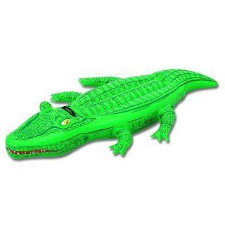 Bestway 41010   Schwimmtier Krokodil circa 168 x 79 cm: Spielzeug