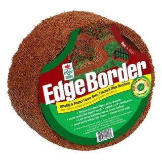 Easy Gardener 10 ft. Red Rubber Edge Border DISCONTINUED EB61046HD