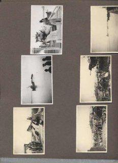 Fotoalbum Bulgarien Rum�nien, 2. Weltkrieg, 198 Fotos, dabei Schiffstransporte, Br�cken: unbekannt: Bücher