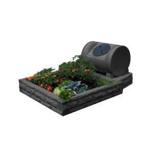 Good Ideas Hybrid Dark Granite Raised Garden Bed GW RBGH DG