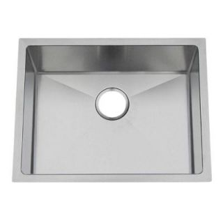 Frigidaire Gallery Undermount Stainless Steel 22 5/8x18 3/4x9 0 Hole Single Bowl Kitchen Sink FGUR2319 D9