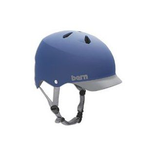 Bern Watts Helmet ( sz. M, Matte Blue/Grey ) : Skate And Skateboarding Helmets : Sports & Outdoors
