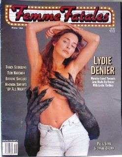 Femme Fatales Magazine Vol. #2 #3 Winter 1994, Lydie Denier, Tracy Scoggins, Teri Hatcher, Brooke Shields, Rhonda Shears : Other Products : Everything Else