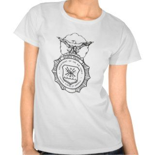 United States Air Force Security Forces Shield T Shirt