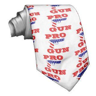 Pro Gun Rights Necktie