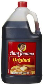 Aunt Jemima Syrup Jug, 128 oz  Maple Syrups  Grocery & Gourmet Food