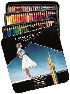 Prismacolor Premier Soft Core Colored Pencils, 132 Colored Pencils (4484)  Wood Colored Pencils