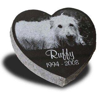 Large Heart Shape Pet Grave Marker   Pet Headstones   Pet Gravestones   Pet Memorials