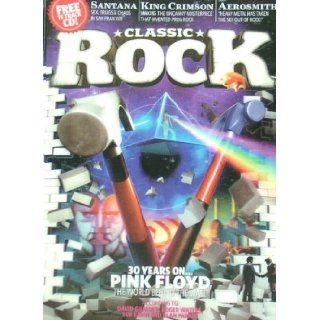 Classic Rock Magazine, Issue 139, December 2009 (with Free CD) (Pink Floyd The Wall 3 D cover): Pink Floyd, Santana, King Crimson, Aerosmith: Books