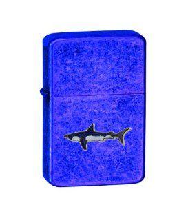 Vector KGM Thunderbird Emblem Vintage Sparkle Blue Lighter   Animal   Shark Pins   Blue Shark Health & Personal Care