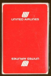 United Airlines Playing Card Deck unopened ca 1970s Entertainment Collectibles