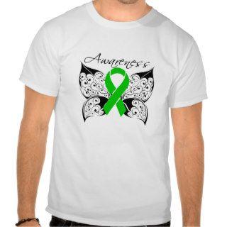 Tattoo Butterfly Awareness   Kidney Cancer Tshirt