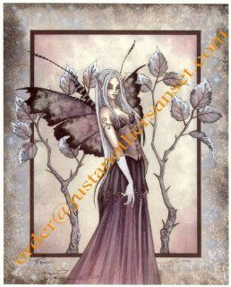 """Frost Amy Brown Mini Lithograph 4.25"""" X 5.5"""" Fairy Print"""