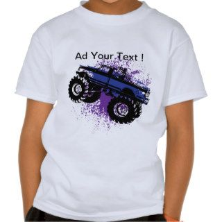 Kids Ford Monster Truck T shirts