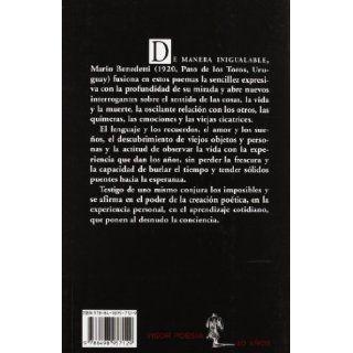 712.  Testigo de uno mismo: Mario Benedetti: 9788498957129: Books