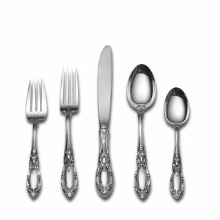Towle King Richard 66 piece Sterling Silver Flatware Set Towle Silver Sterling Flatware