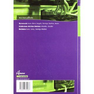 AUTOMATISMOS ELECTRICOS E INDUSTRIALES: JOSE LUIS/OTROS DURAN: 9788496334687: Books