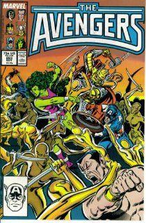 "The Avengers #283   ""Whom the Gods Would Destroy"" Roger Stern, John Buscema, Tom Palmer, Christie Scheele, Mark Gruenwald Books"