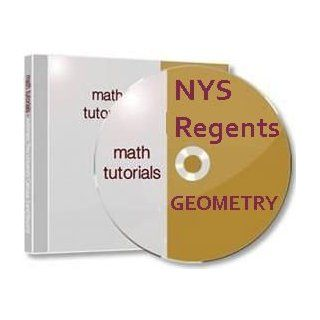 NYS Geometry Regent DVDs By College Math Professor Over 7 Hours Http//www./shops/math_videos Software