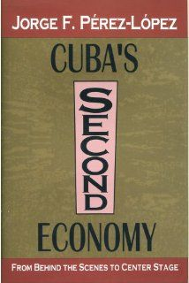Cuba's Second Economy From Behind the Scenes to Center Stage (9781560001898) Jorge F. Perez Lopez Books