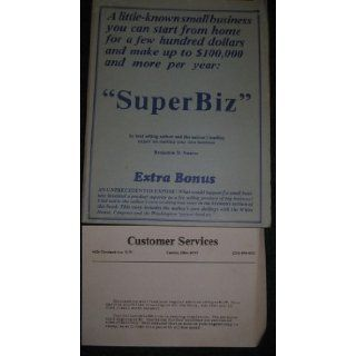 The superbiz [superscript TM] instruction manual Benjamin D Suarez 9780933492066 Books