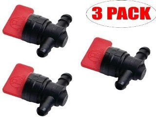 Oregon 07 406 (3 Pack) In Line Fuel Shut Off Valve Replaces Briggs & Stratton 698183: Home Improvement
