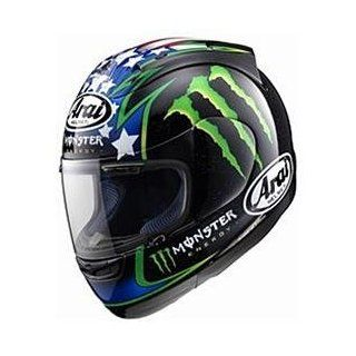 Arai RX 7 Corsair Hopkins Monster Replica Helmet   Large/Hopkins Monster Replica: Automotive