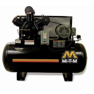 Mi T M 120 Gallon 2 Stage Stationary Air Compressor Tools