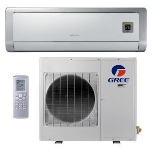 GREE Premium Efficiency 12,000 BTU Ductless Mini Split Air Conditioner with Heat   115V/60Hz GWH12ABA3DNA2B