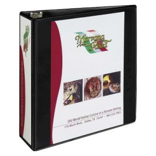 Avery Heavy Duty NonStick View Binder with One Touch Slant Rings, 3 Capacity