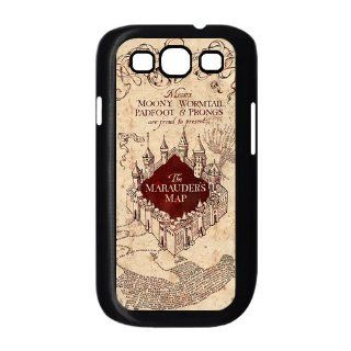 Marauder's Map Harry Potter Movie Series Samsung Galaxy S3 I9300 Case Hard Protective Back Case B00B5QKFKS UniqueDIY: Cell Phones & Accessories