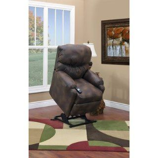 52 Series Petite Wall a Way Reclining Lift Chair with Extra Magazine Pocket Color Vista   Elemental Health & Personal Care