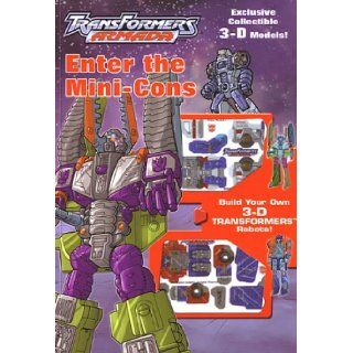 TRANSFORMERS ARMADA   Enter The Mini Cons (TRANSFORMERS ARMADA): Optimus Prime: Books