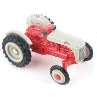 Vintage Ford Toy Tractor, Red & Grey Toys & Games