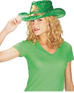 Adult St. Patricks Day Cowboy Hat Clothing