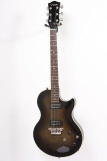 Vox SSC33 Single Cutaway Solidbody Electric Guitar Blackburst 886830765759 Musical Instruments
