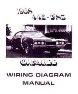 1968 OLDSMOBILE 442 CUTLASS F 85 Wiring Diagrams Automotive