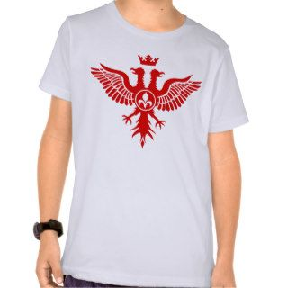 Double Headed Eagle Heraldic T Shirt
