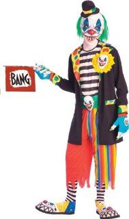 Evil Clown Adult Costume : Office Products