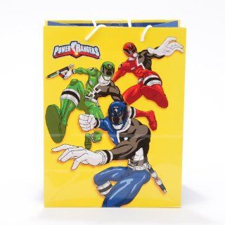 "Lot of 4 Power Rangers Medium Paper Gift Bag with Handles (12"" X 9"" X 5"") Health & Personal Care"
