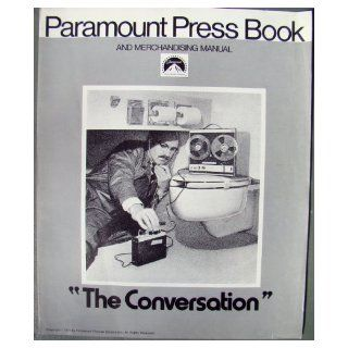 Francis Ford Coppola's The Conversation Vintage 1974 Pressbook with Gene Hackman, Robert Duvall, Frederic Forrest: Paramount Pictures: Books