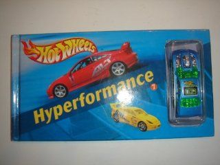 2003 Hot Wheels Hyperformance Book #7 With Overbored 454 Light Blue Toys & Games