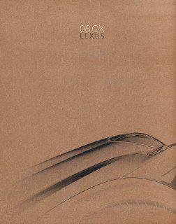 2008 Lexus GX GX470 Sales Brochure Book