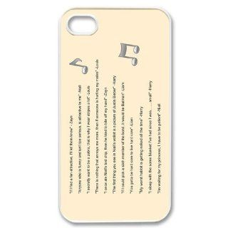 Custom One Direction Cover Case for iPhone 4 4s LS4 3215: Cell Phones & Accessories