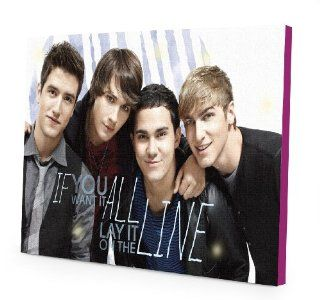 Nickelodeon Big Time Rush LED Canvas Wall Art, 15.75 Inch x 11.5 Inch Toys & Games