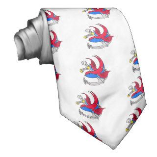 Traditional Sailor Tattoo design Necktie