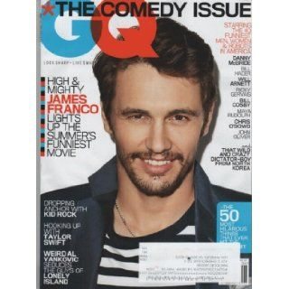 GQ Magazine (June, 2013) James Franco Cover Jim Nelson Books
