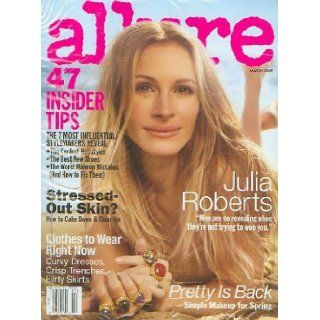 Allure Magazine (March, 2009) Julia Roberts Cover: Linda Wells: Books