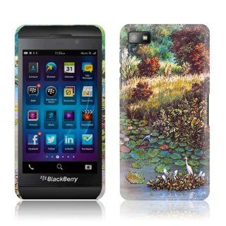 TaylorHe Classic Oil Painting Colourful Landscape Blackberry Z10 Hard Case Printed Blackberry Z10 Cases UK MADE All Around Printed on Sides 3D Sublimation Highest Quality: Cell Phones & Accessories